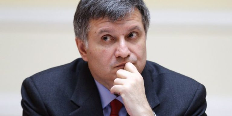 Interior Minister of Ukraine Arsen Avakov