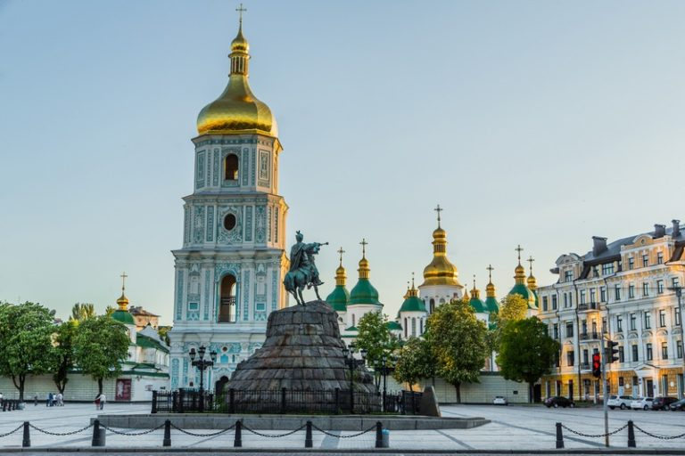 St. Sophia Cathedral became the first entry in the list of UNESCO World Heritage monument of architecture in the territory of Ukraine